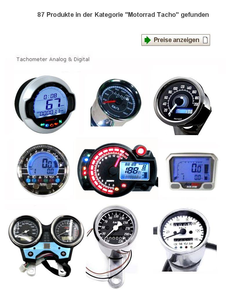 Motorrad Tachometer Und Tachowellen